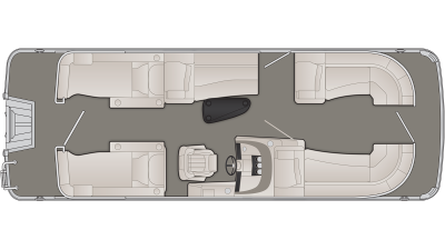 R Series 23RCW Floor Plan - 2020