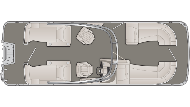 R Series 23RCWA Floor Plan - 2020