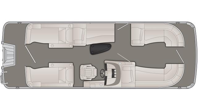 2020 Bennington R Series 23RCWL - R 9244