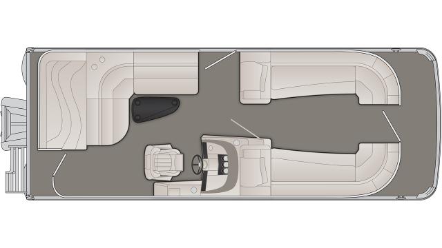 R Series 23RL Floor Plan - 2020
