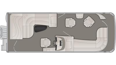 Bennington R Series 23RLCP Floor Plan - 2020