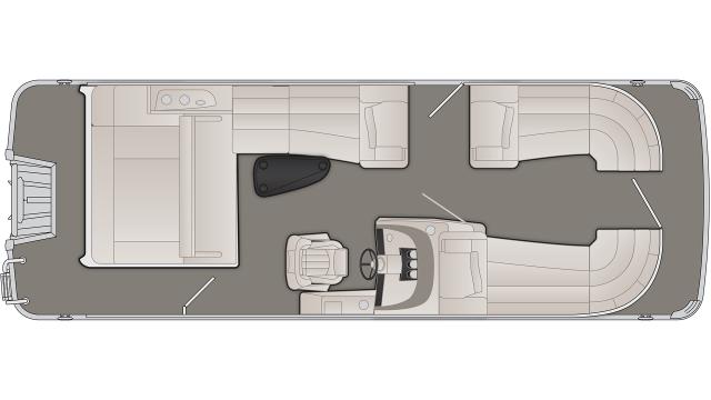R Series 23RSB Floor Plan - 2019