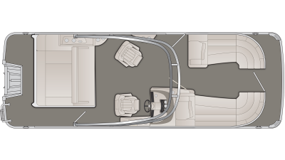 Bennington R Series 23RSBA Floor Plan - 2020