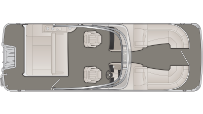 Bennington R Series 23RSBWA Floor Plan - 2020