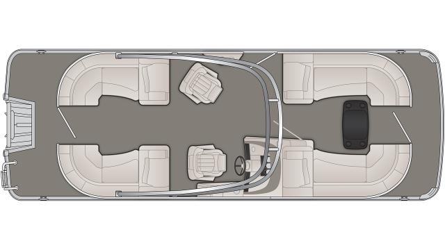 Bennington R Series 23RSRA Floor Plan - 2020