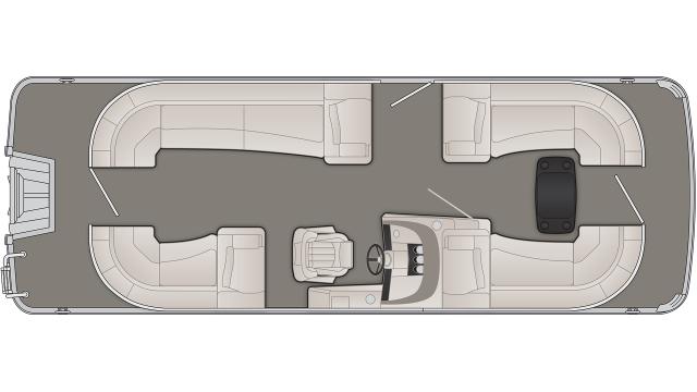 R Series 23RSRC Floor Plan - 2020