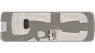 R Series 25RCL Floor Plan - 2020