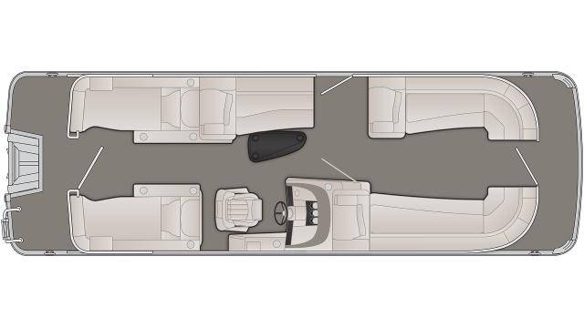 2020 Bennington R Series 25RCW - R 0739