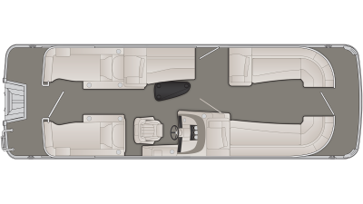 R Series 25RCW Floor Plan - 2020