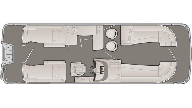 2020 Bennington R Series 25RCWB - R 7303
