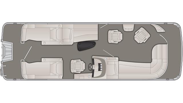 R Series 25RCWCP Floor Plan - 2020