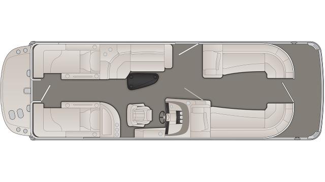 R Series 25RCWIO Floor Plan - 2020