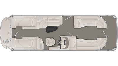 R Series 25RCWIO Floor Plan - 2020