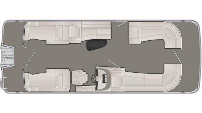 Bennington R Series 25RCWX1 Floor Plan - 2020