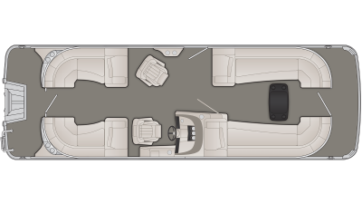 R Series 25RFB Floor Plan - 2020