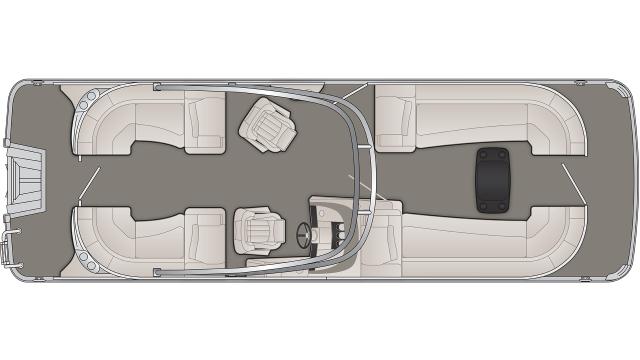 R Series 25RFBA Floor Plan - 2020