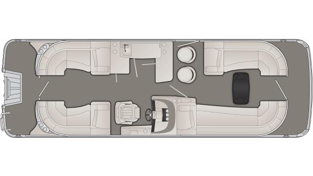 2020 Bennington R Series 25RFBB - R 1555