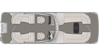 Bennington R Series 25RFBWA Floor Plan - 2020