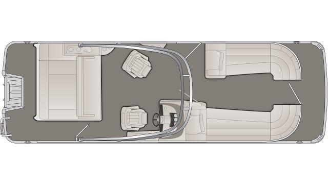 2020 Bennington R Series 25RSBA - R 7693