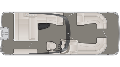 Bennington R Series 25RSBAX1 Floor Plan - 2020