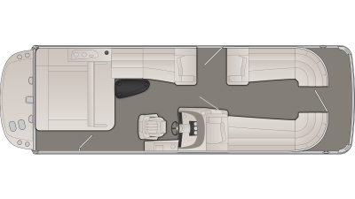 Bennington R Series 25RSBIO Floor Plan - 2020
