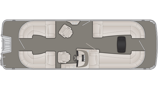R Series 25RSR Floor Plan - 2020