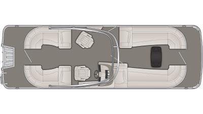 Bennington R Series 25RSRA Floor Plan - 2020