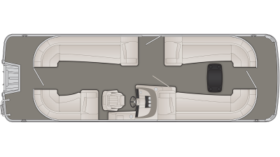 Bennington R Series 25RSRC Floor Plan - 2020