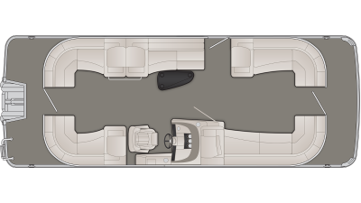 Bennington R Series 25RSRX1 Floor Plan - 2020