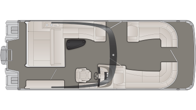 R Series 27RSBAX2 Floor Plan - 2020