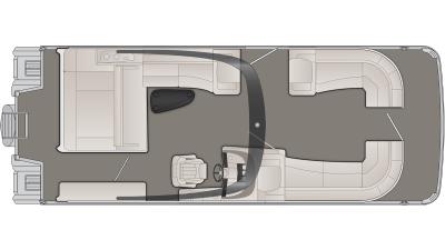 Bennington R Series 27RSBAX2 Floor Plan - 2020