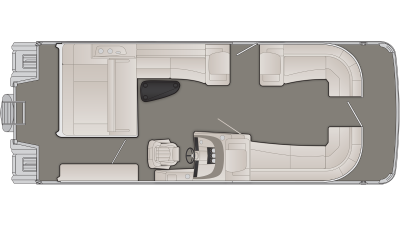 Bennington R Series 27RSBX2 Floor Plan - 2020