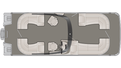 Bennington R Series 27RSRAX2 Floor Plan - 2020