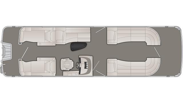 2020 Bennington R Series 28RCW - R 8974