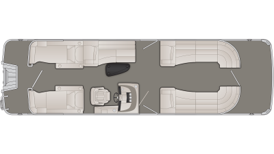 R Series 28RCW Floor Plan - 2020