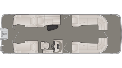 Bennington R Series 28RCWX1 Floor Plan - 2020