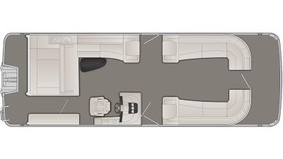 Bennington R Series 28RSBX1 Floor Plan - 2020
