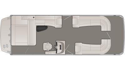 Bennington R Series 28RSBX1IO Floor Plan - 2020