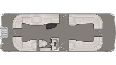 Bennington R Series 28RSRX1 Floor Plan - 2020