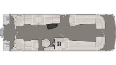 Bennington R Series 30RFBX2 Floor Plan - 2020