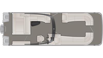 Bennington R Series 30RSBAX2 Floor Plan - 2020