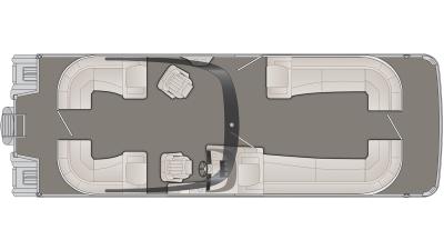 Bennington R Series 30RSRAX2 Floor Plan - 2020
