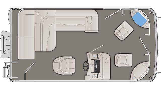 S Series 168SF Floor Plan - 2020