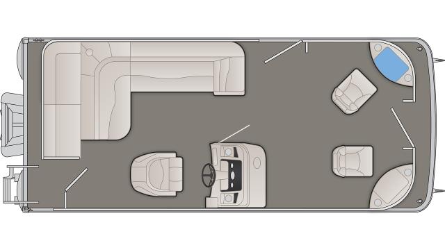 Bennington S Series 208SF Floor Plan - 2020