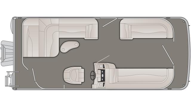 S Series 21SL Floor Plan - 2020