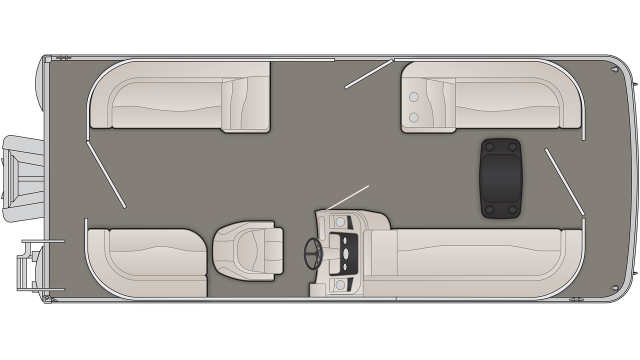 S Series 21SSR Floor Plan - 2020