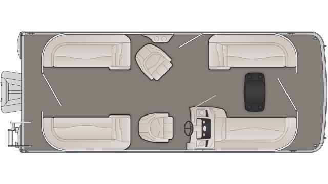 S Series 22SSR Floor Plan - 2020