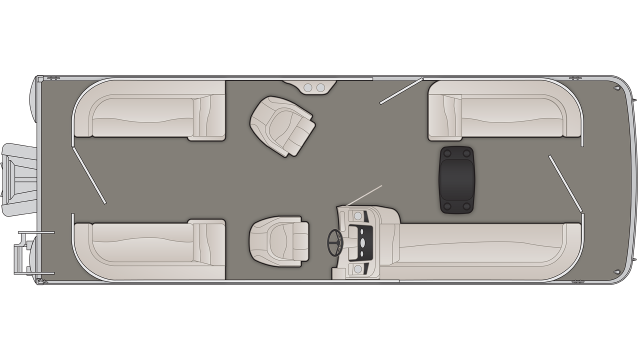 S Series 25SSR Floor Plan - 2020