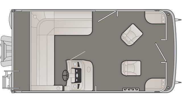 SV Series 168SFV Floor Plan - 2020