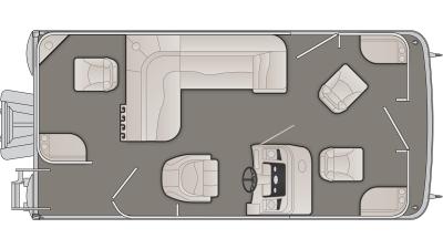 SV Series 188SFV Floor Plan - 2020